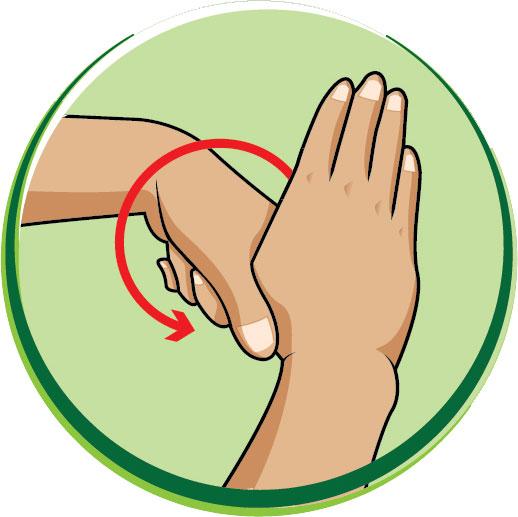 6 bước rửa tay bằng xà phòng giúp ngăn ngừa virus cúm cho trẻ - Ảnh 6