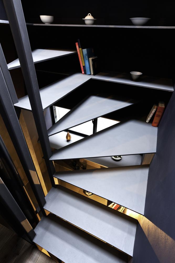 """""""Nhà 1,8m"""" với thiết kế thông thoáng ở Nhật Bản - Ảnh 9"""