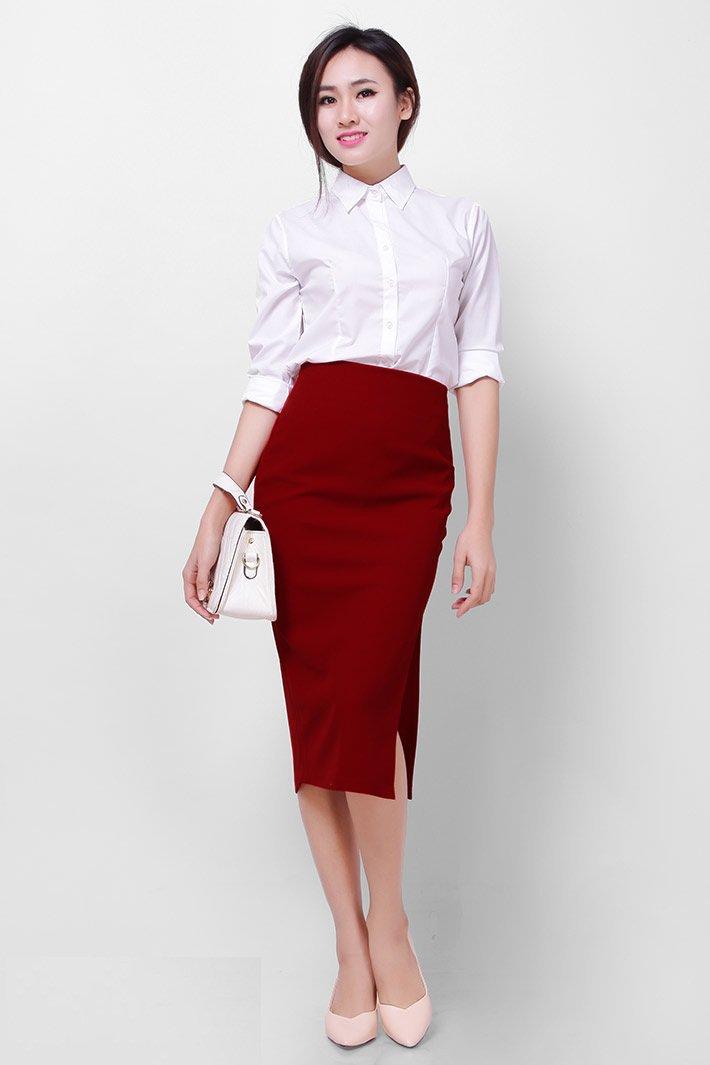 Đây chính là 15 set đồ mặc đẹp bất chấp nắng mưa cho nàng công sở - Ảnh 4