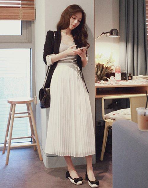 Đây chính là 15 set đồ mặc đẹp bất chấp nắng mưa cho nàng công sở - Ảnh 6
