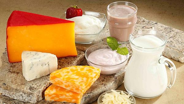 Không nên loại bỏ sữa và các sản phẩm từ sữa trong khẩu phẩn ăn của trẻ bị béo phì. Ảnh minh họa: Internet