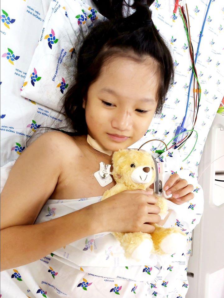 Bệnh viện Nhi đồng Thành phố hồi sinh ngoạn mục 2 bé gái viêm cơ tim tối cấp - Ảnh 3