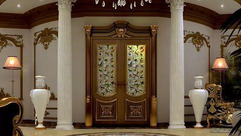 Chọn màu cho cửa ra vào nhà đẹp - Ảnh 1
