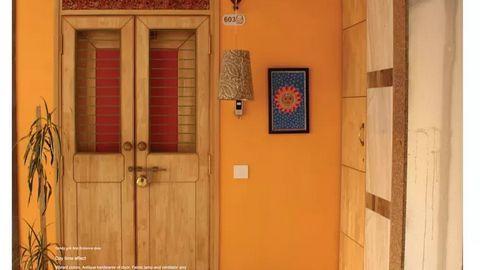 Chọn màu cho cửa ra vào nhà đẹp - Ảnh 3