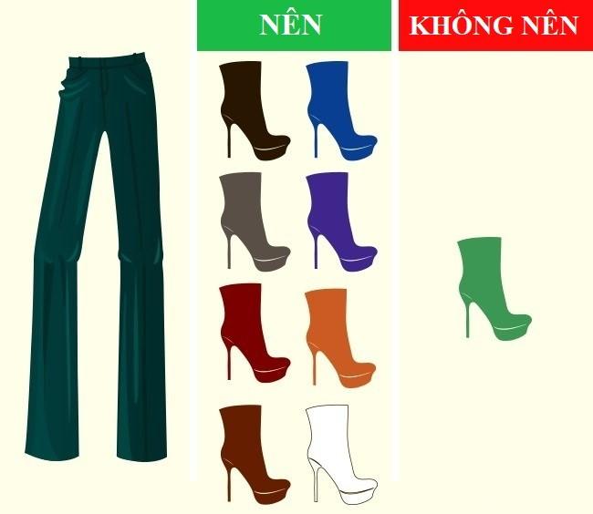 Cách kết hợp màu sắc quần với giày dép hoàn hảo - Ảnh 8