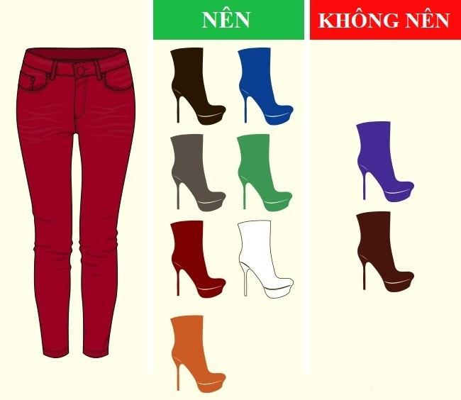 Cách kết hợp màu sắc quần với giày dép hoàn hảo - Ảnh 9