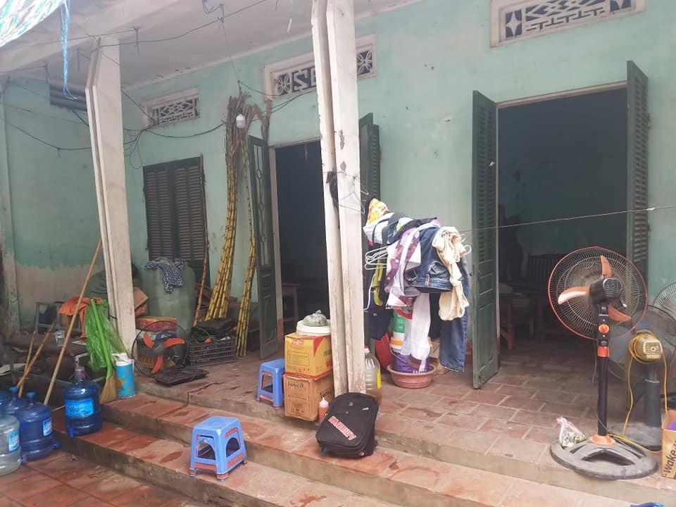 Căn nhà nơi cả gia đình chị Thiện sinh sống