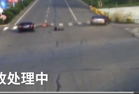 Thót tim clip người đàn ông bị ô tô húc văng trên đường - Ảnh 2