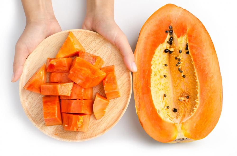 Đu đủ chứa nhiều vitamin tốt cho đời sống chăn gối