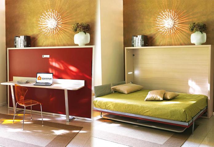 Bàn kết hợp giường