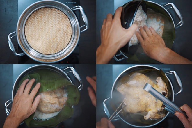 Cách làm gà bó xôi chiên giòn thơm ngon như ngoài hàng - Ảnh 3