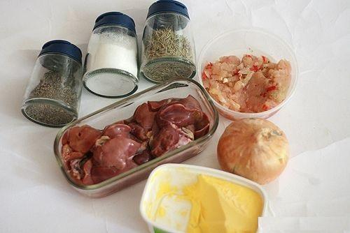 Những nguyên liệu cần chuẩn bị để làm món pate thịt heo
