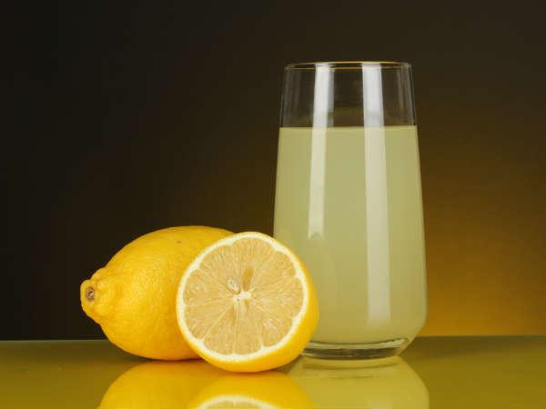 Nước chanh chứa nhiều thành phần có đặc tính kháng khuẩn