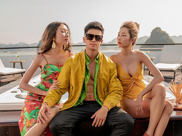 """Trọng Hiếu mang cả """"mùa hè"""" đến với fan trong MV mới """"Anh đổ rồi đấy"""" - Ảnh 2"""