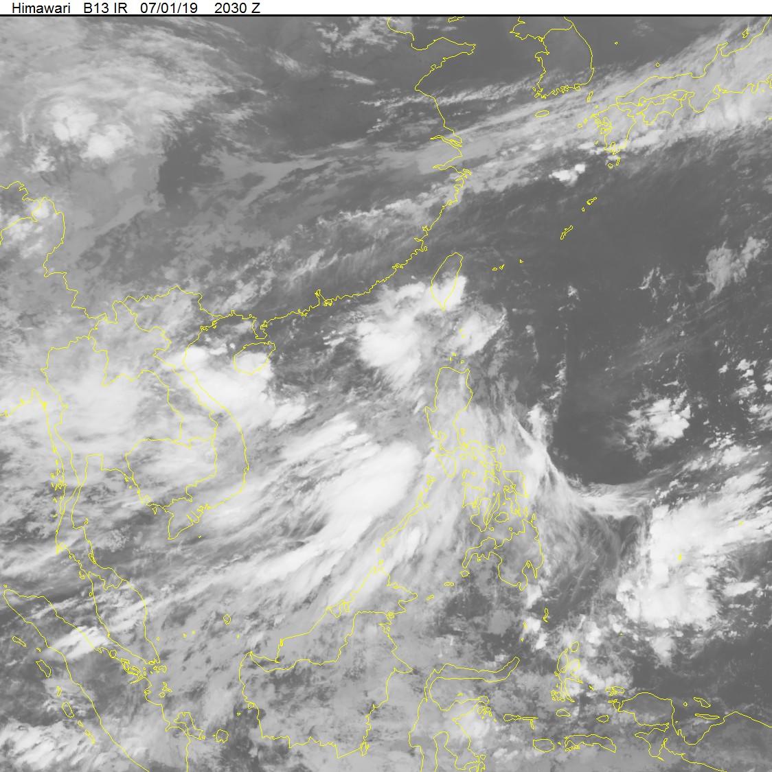 Áp thấp nhiệt đới khả năng mạnh lên thành bão giật cấp 11 đang hướng vào vịnh Bắc Bộ - Ảnh 2