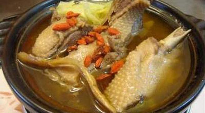 Món ăn bổ từ thịt ngỗng - Ảnh 1