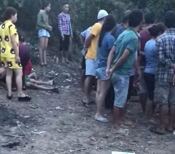 Đi tắm suối, 4 học sinh chết đuối thương tâm - Ảnh 1