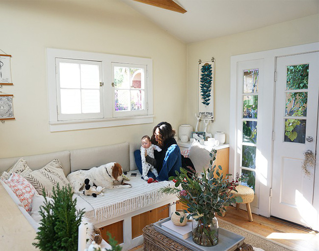 Ngôi nhà nhỏ của gia đình 3 người và 2 chú thú cưng - hạnh phúc đôi khi chỉ đơn giản như thế - Ảnh 4