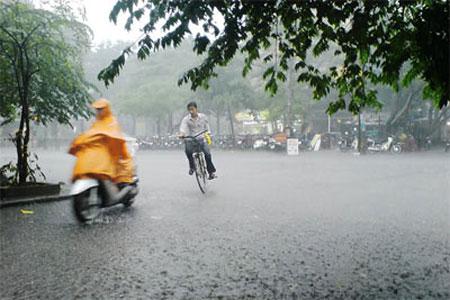 Dự báo thời tiết 3 ngày tới 22-24/3: Miền Bắc có thể có mưa đá, Nam bộ mưa rào - Ảnh 1