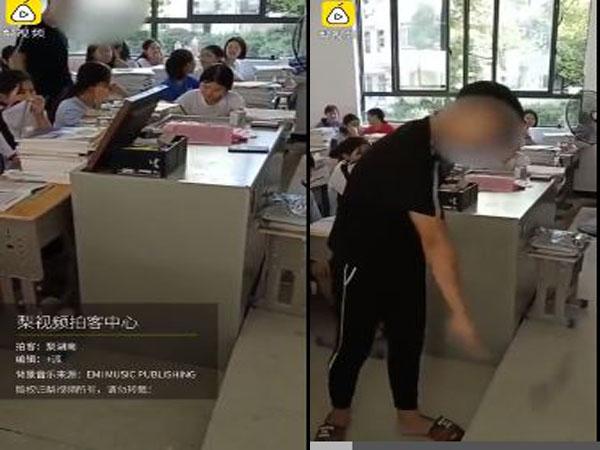 Hình thức xử phạt của thầy giáo khiến cộng đồng mạng bức xúc
