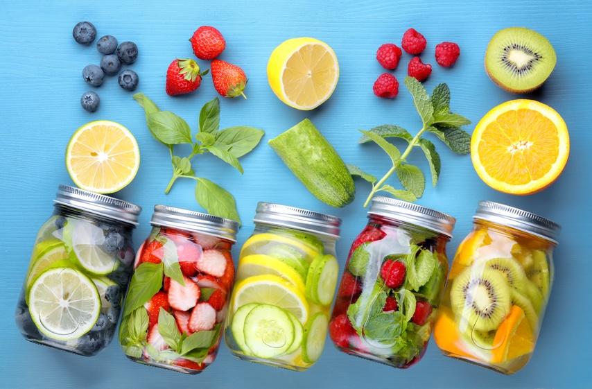 Nước detox từ trái cây là thức uống giúp cơ thể giảm cân hiệu quả