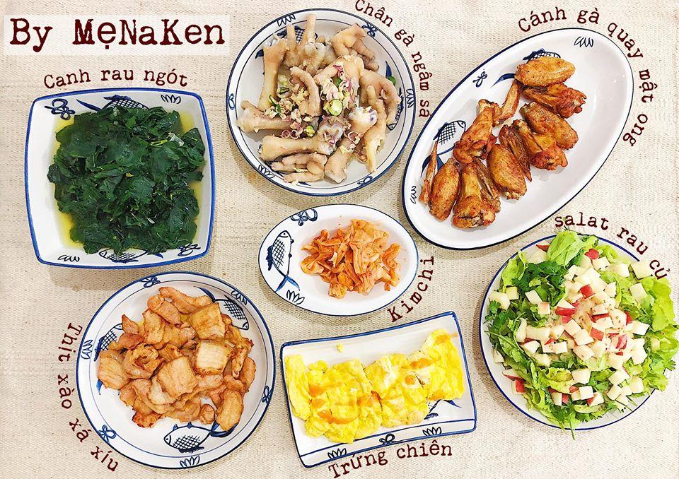 Bữa cơm đơn giản nhưng giàu dinh dưỡng