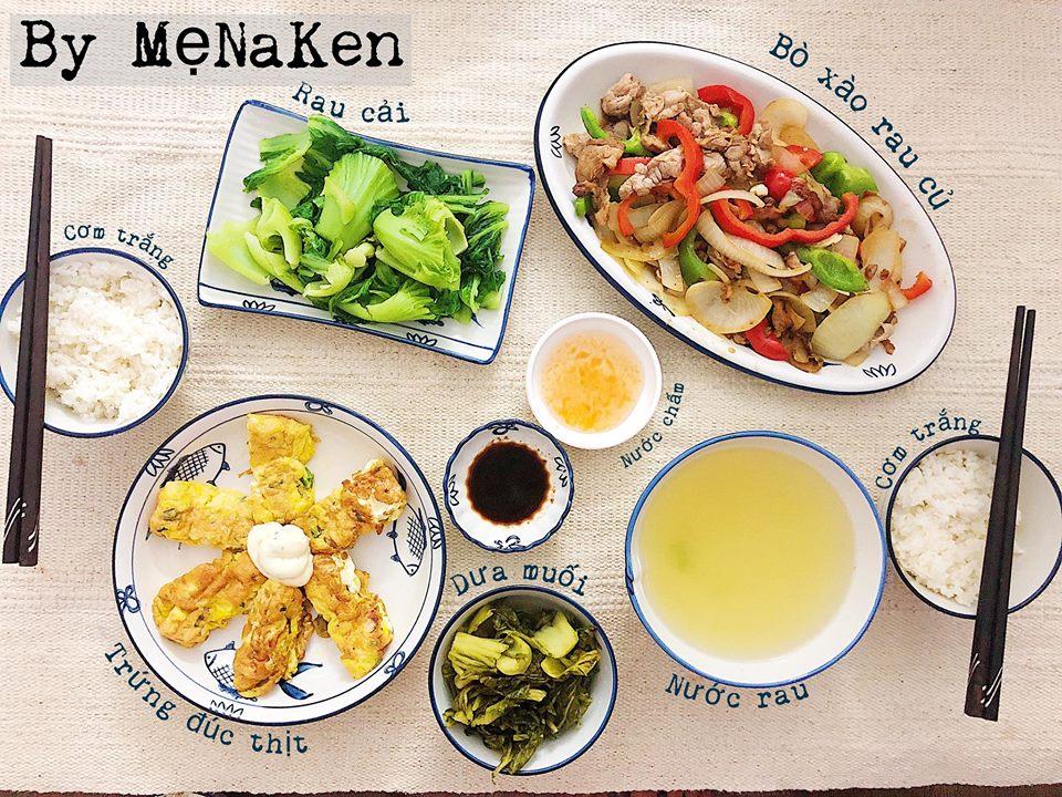 Các món ăn đều được chế biến đơn giản nhưng đảm bảo đầy đủ dinh dưỡng