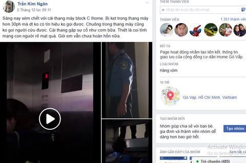 Cư dân bày tỏ nỗi bức xúc vì thang máy và chất lượng của chung cư I-home không đảm bảo.