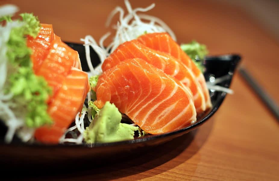 Cá hồi có chứa nhiều omega-3 tốt cho hệ tuần hoàn