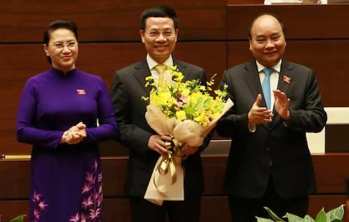 Ông Nguyễn Mạnh Hùng được phê chuẩn Bộ trưởng Thông tin Truyền thông - Ảnh 2