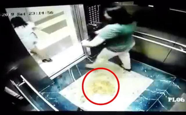 Chưa hết 'nóng' vụ tiểu bậy, người dân kinh hãi phát hiện ai đó...đại tiện tại thang máy chung cư - Ảnh 2