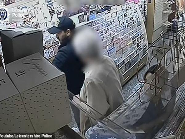 Cặp vợ chồng dàn cảnh trộm ví của cụ bà 86 tuổi