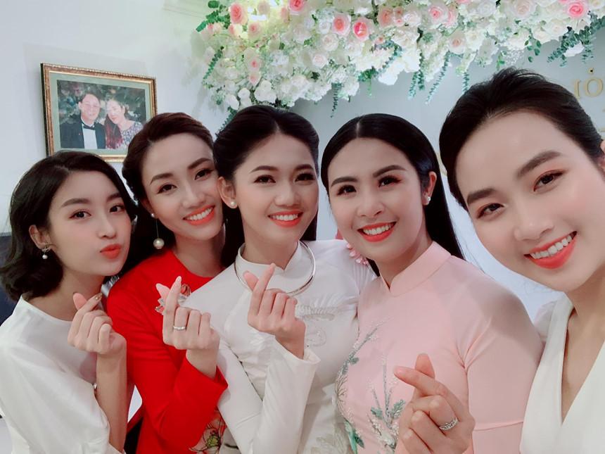 Rộ tin đồn á hậu Thanh Tú 'cưới chạy bầu' vì vòng 2 to bất thường - Ảnh 1