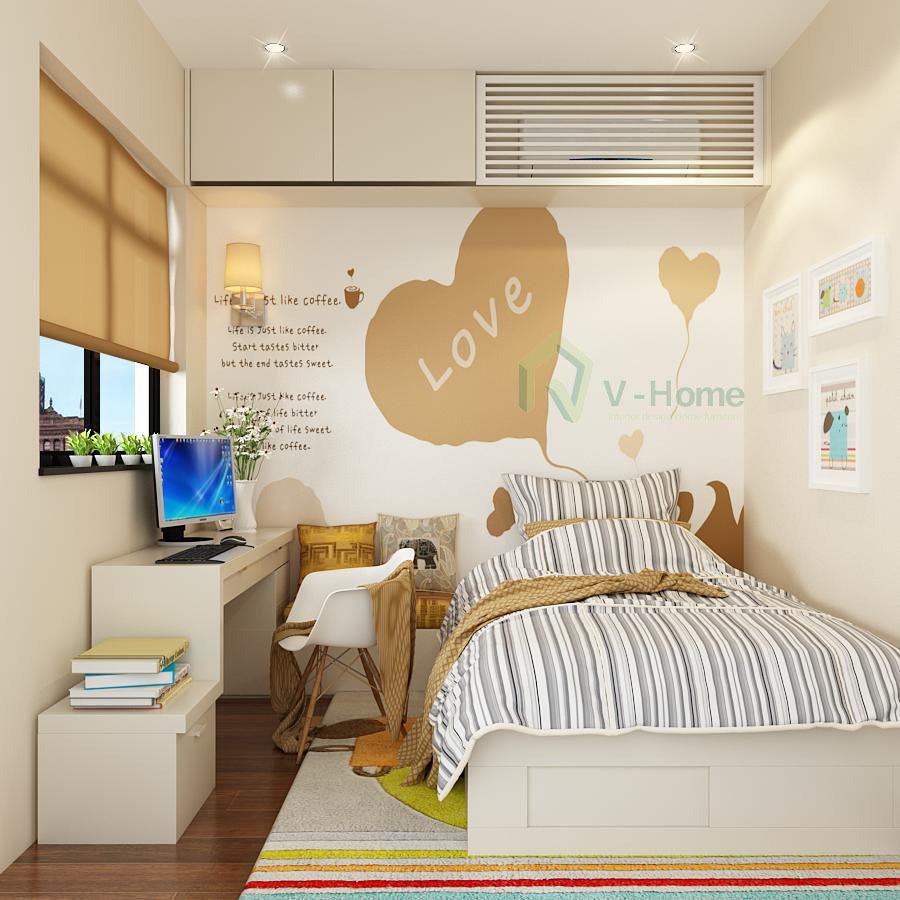 Ngẩn ngơ những mẫu phòng ngủ siêu nhỏ, siêu xinh dành cho nhà chật - Ảnh 12