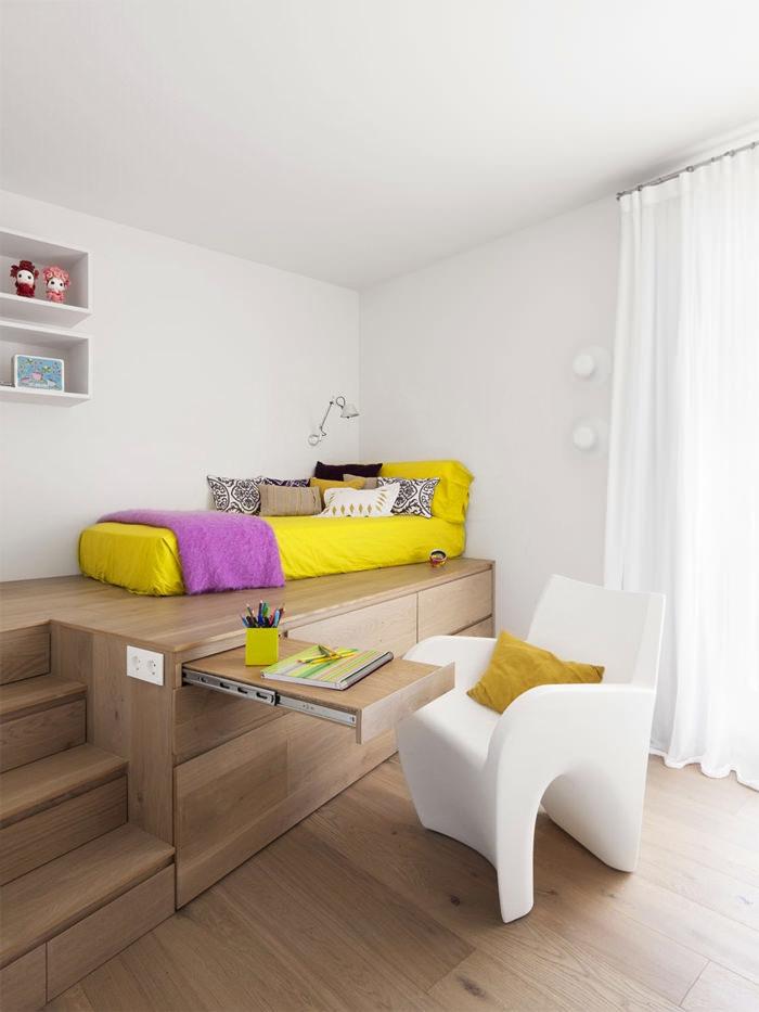 Ngẩn ngơ những mẫu phòng ngủ siêu nhỏ, siêu xinh dành cho nhà chật - Ảnh 9