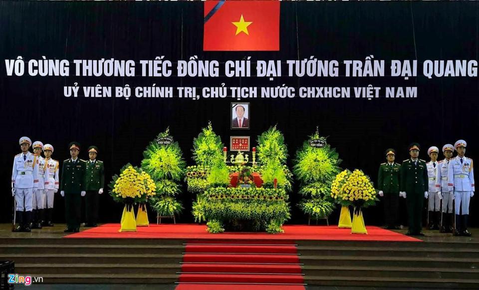 Tổng bí thư cùng các lãnh đạo viếng Chủ tịch nước Trần Đại Quang - Ảnh 3