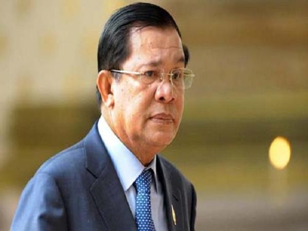 Thủ tướng Campuchia sang Việt Nam viếng Chủ tịch nước Trần Đại Quang - Ảnh 1