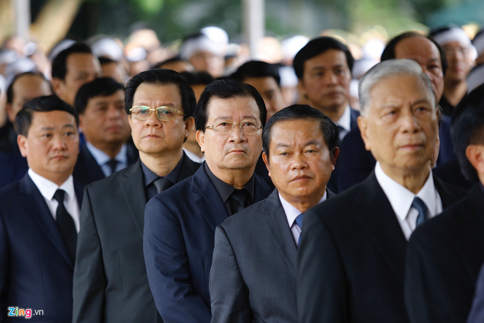 Tổng bí thư cùng các lãnh đạo viếng Chủ tịch nước Trần Đại Quang - Ảnh 9