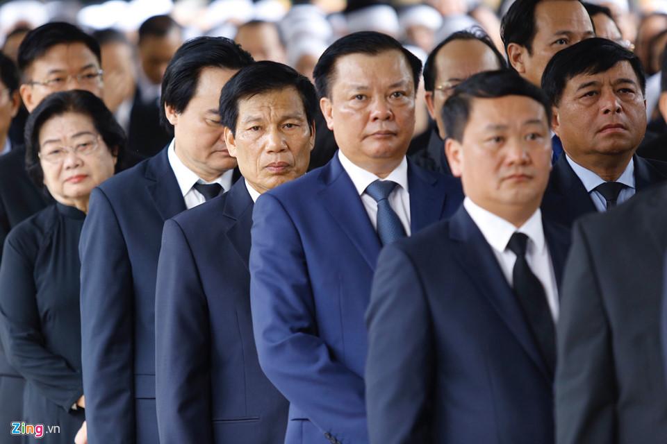 Tổng bí thư cùng các lãnh đạo viếng Chủ tịch nước Trần Đại Quang - Ảnh 10