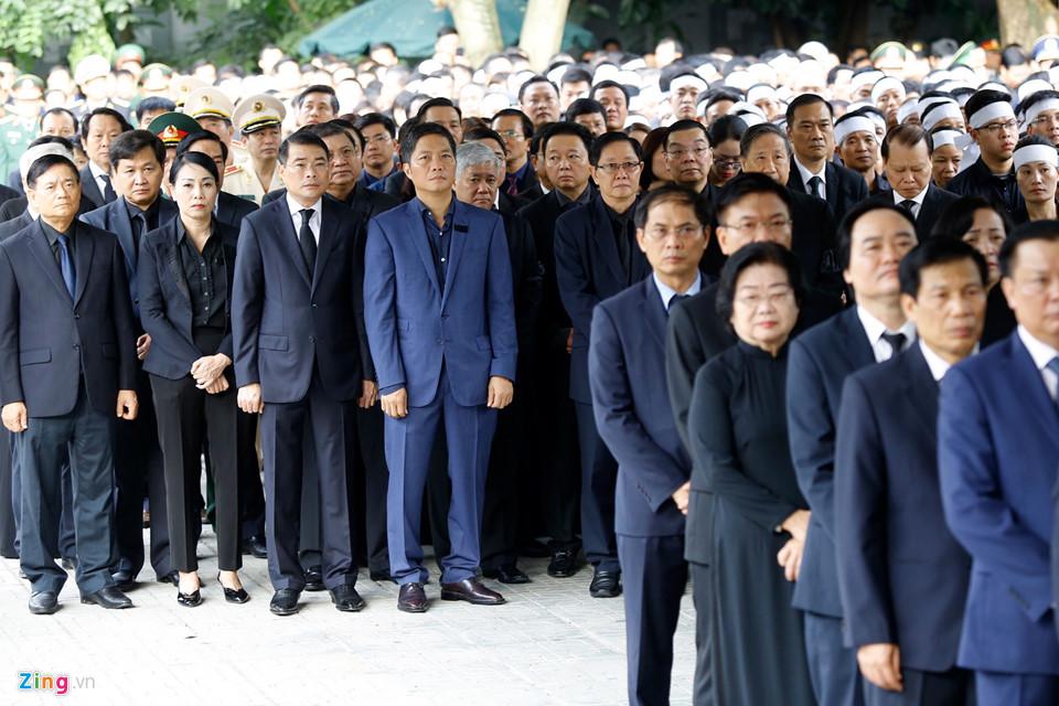 Tổng bí thư cùng các lãnh đạo viếng Chủ tịch nước Trần Đại Quang - Ảnh 11