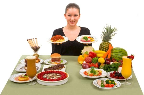 Trái cây và rau xanh là những loại thực phẩm rất tốt cho phụ nữ trước khi mang thai