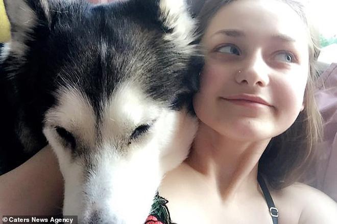 Cô gái quyết định dùng tro cốt của chú chó cưng để xăm lên cơ thể