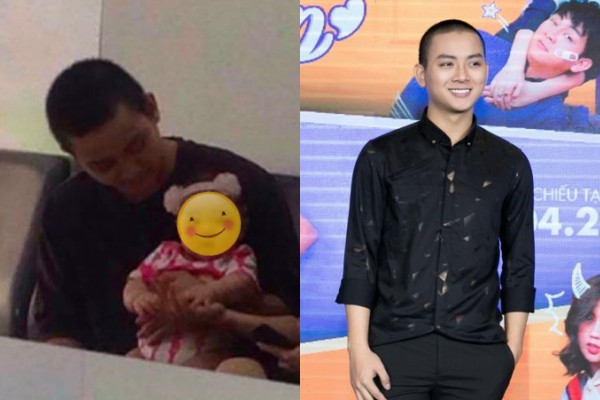 Hình ảnh làm dấy lên nghi vấn Hoài Lâm đã có con với bạn gái. Ảnh minh họa: Internet