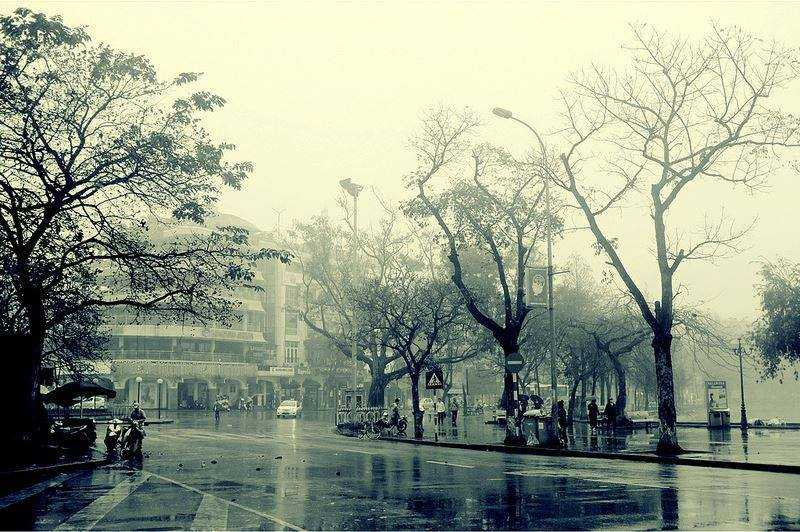 Dự báo thời tiết ngày 28/12: Bắc Bộ rét đậm, mưa rào cả ngày - Ảnh 1