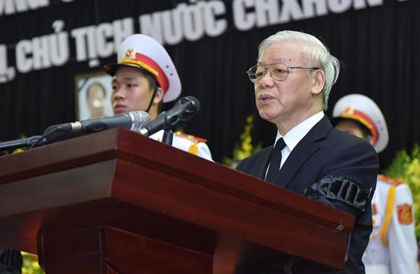 Lễ truy điệu và di quan Chủ tịch nước Trần Đại Quang - Ảnh 2