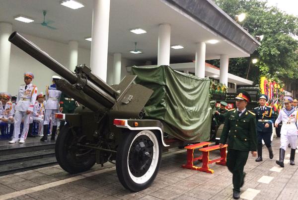 Lễ truy điệu và di quan Chủ tịch nước Trần Đại Quang - Ảnh 1