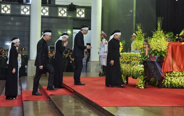 Lễ truy điệu và di quan Chủ tịch nước Trần Đại Quang - Ảnh 5