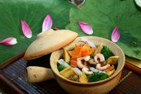 Khỏe đẹp bằng ẩm thực chay - Ảnh 1