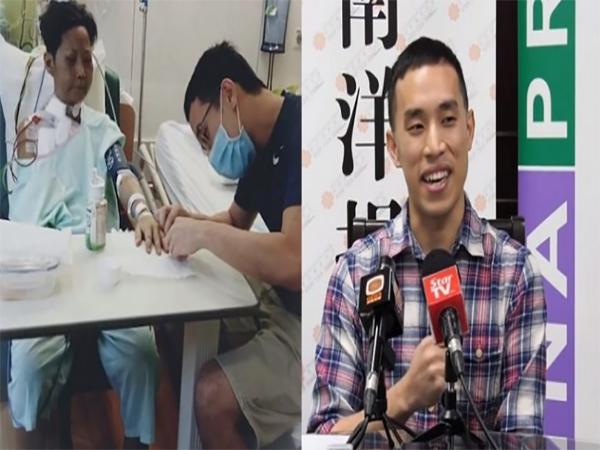 Jerome Chin tình nguyện hiến gan cho cô giáo đã đánh mình