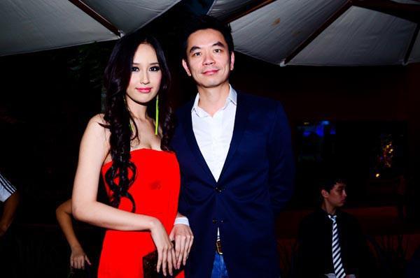 Mai Phương Thúy và bạn trai tin đồn Benny Nguyễn. Ảnh minh họa: Internet